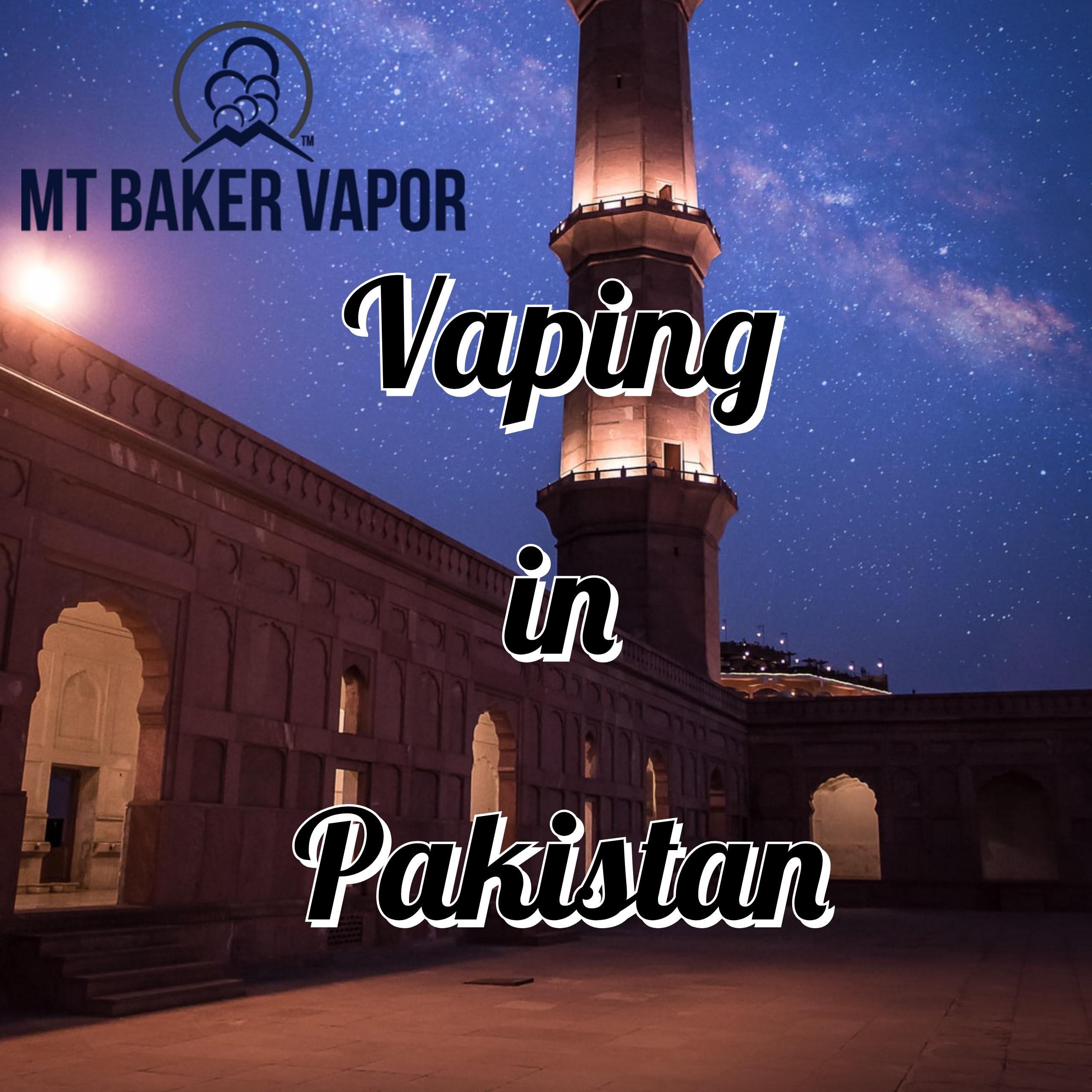 Vaping in Pakistan