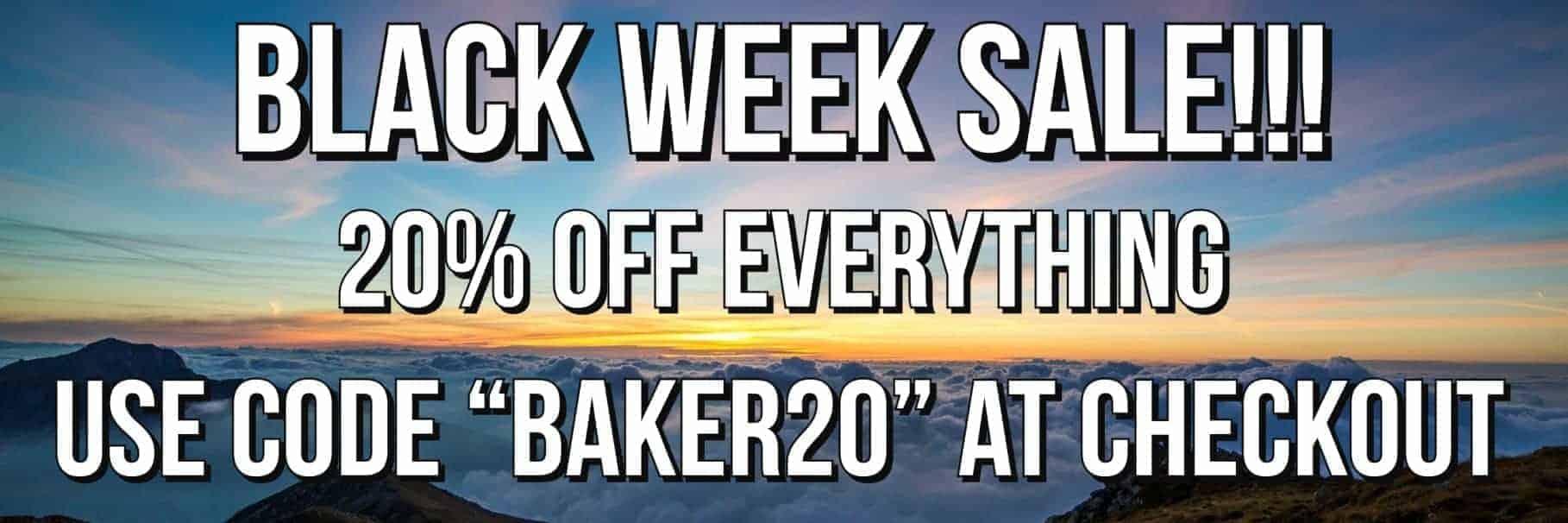 Black Week Sale Banner
